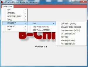 Code PIN IMMO Calculator software 13 57 45