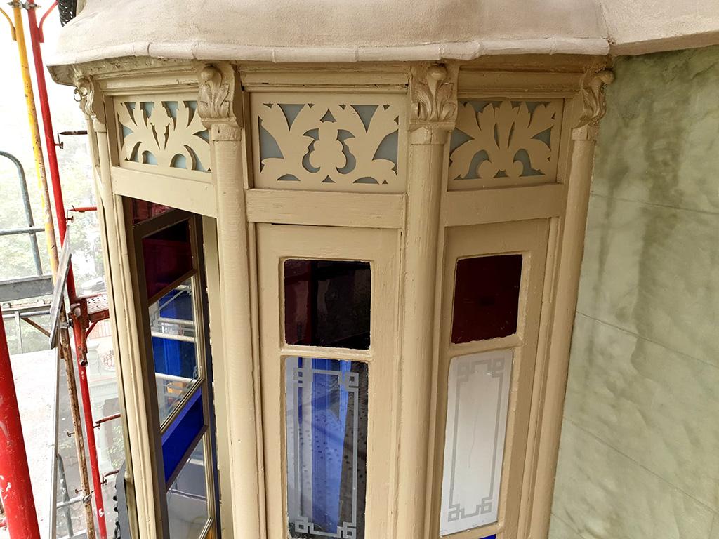 Carpintería restaurada