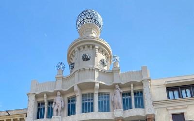 La rehabilitació de la cúpula de la claraboia de Can Damians