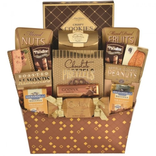 An Expression of Thanks! gift baskets