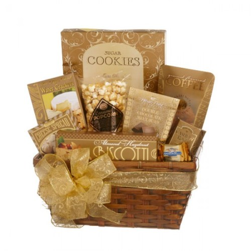 Gold Gift Baskets