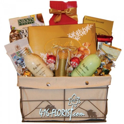 Chocolate Spa Gift