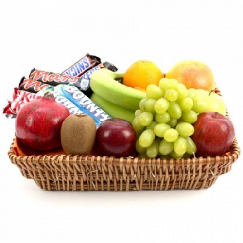 Fruits And Mars Chocolate Bar