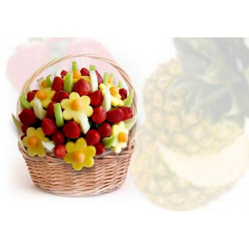 Happy Canadian-Fruit Arrangements