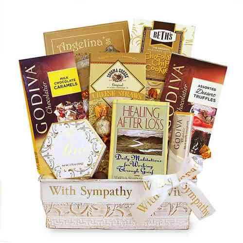 Sympathy Thoughts & Prayers Gift Basket