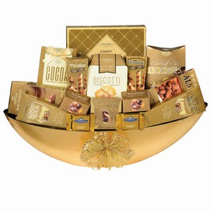 French Delight Treat, corporate gift basket Canada, Canadian gift baskets delivery, Office gift hamper