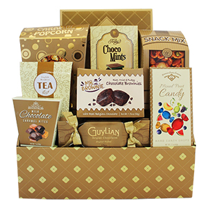 Irresistibly Good Treat, Thank you gift Brampton, chocolate gift Brampton, food hamper Canada, Brampton gift delivery