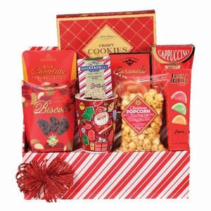 Christmas gift Richmond Hill, holiday gift basket Canada, food hamper, Richmond Hill gift basket delivery, jolly Xmas treat