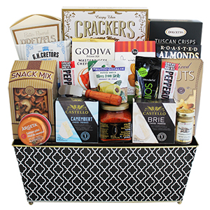 The King's Treat Delight, secretary day gifts, food hamper Canada, Richmond Hill gifts delivery, gift baskets Richmond Hill
