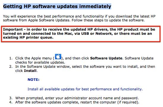 Mac OS X Lion & HP Plotter/ Printer Drivers (3/3)