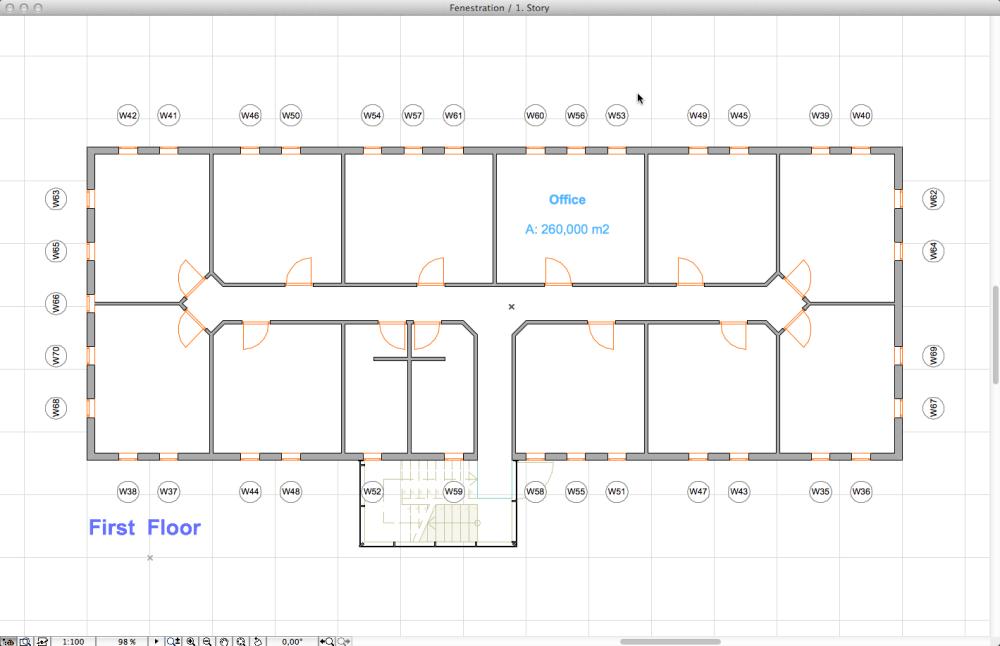 Window-to-floor area ratio calculation in 4 easy steps (SANS 10400-XA 4.4.4.1 & 2) (3/6)