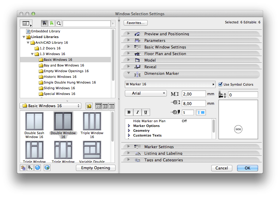 How to: Add Door / Window Markers to Elevations or Sections (2/5)