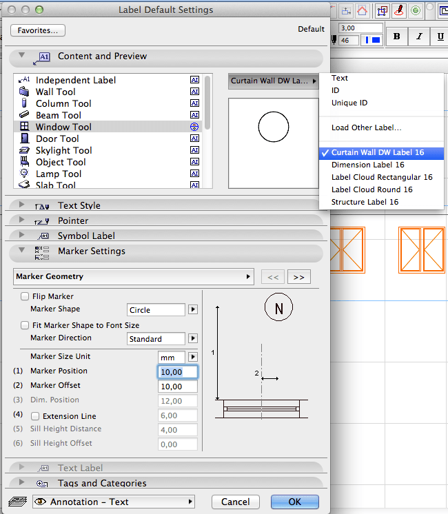 How to: Add Door / Window Markers to Elevations or Sections (3/5)