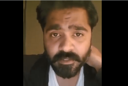 உசுப்பேற்றிய ஸ்டார் ரசிகர்கள் – காண்டான சிம்பு வீடியோ