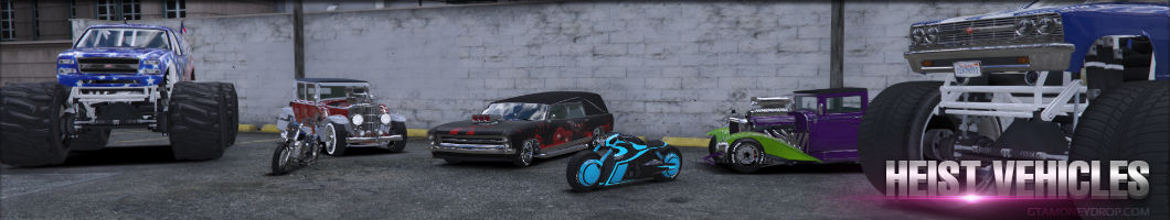 Grand Theft Auto Online heist vehicles unlocked