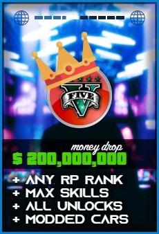 Product: GTA 5 $200000000 Money Drop