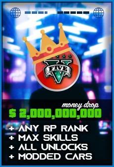 Product: GTA 5 $2000000000 Money Drop