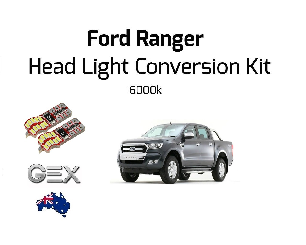 New Ford Ranger Led Fog Lights Headlights Conversion