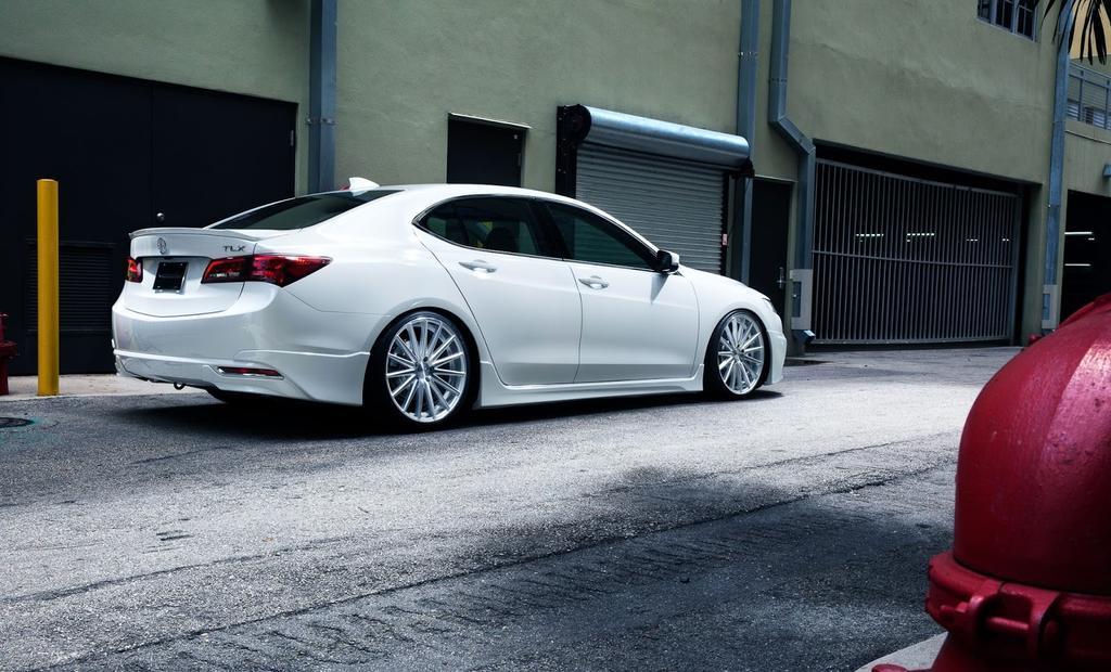 2015 Acura TLX Elegant White