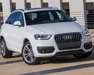 2015 Audi Q3 White Exterior View