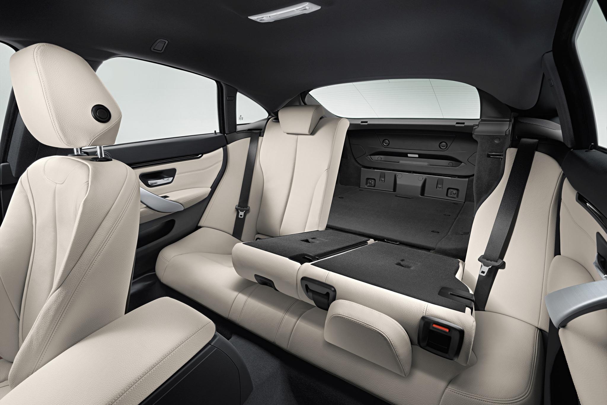 2015 BMW 4 Series Gran Coupe Interior Rear Seats