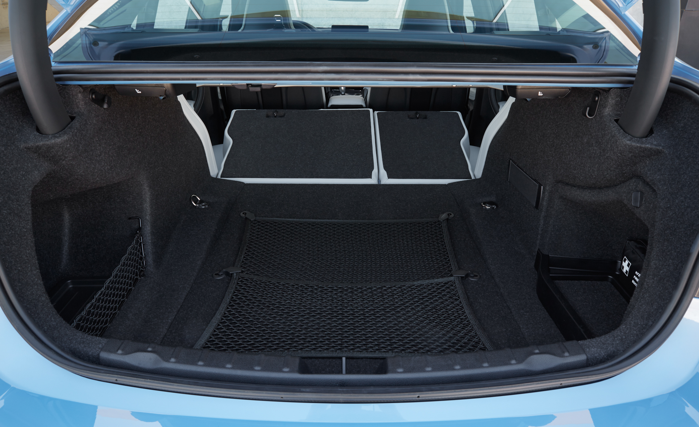 2015 BMW M3 Interior Cargo Space