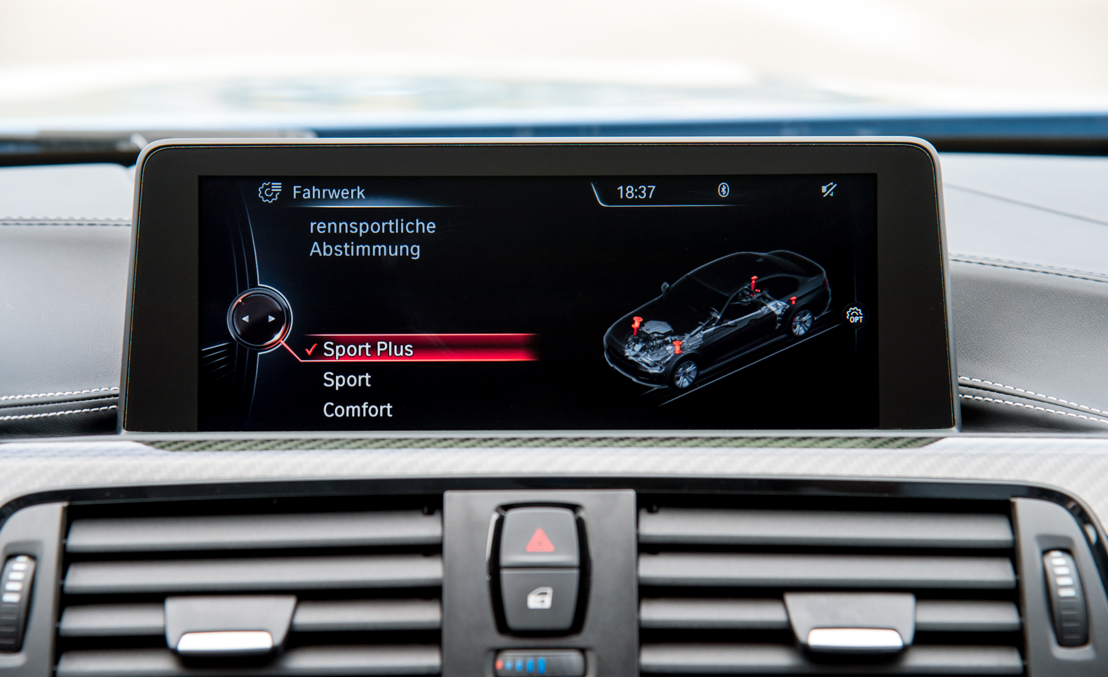2015 BMW M3 Interior Center Head Unit