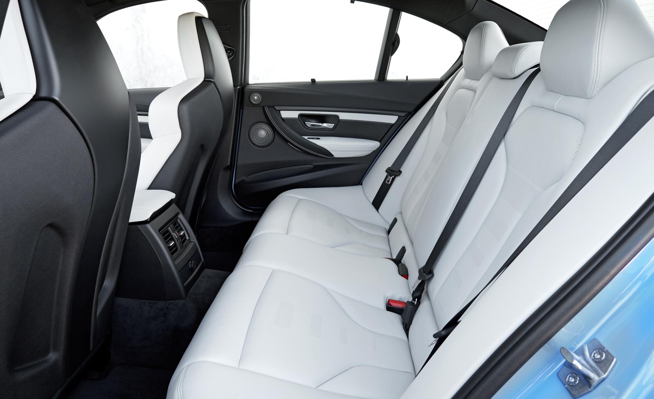 2015 BMW M3 Interior Rear Seats
