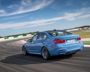 2015 BMW M3 Performance Cornering