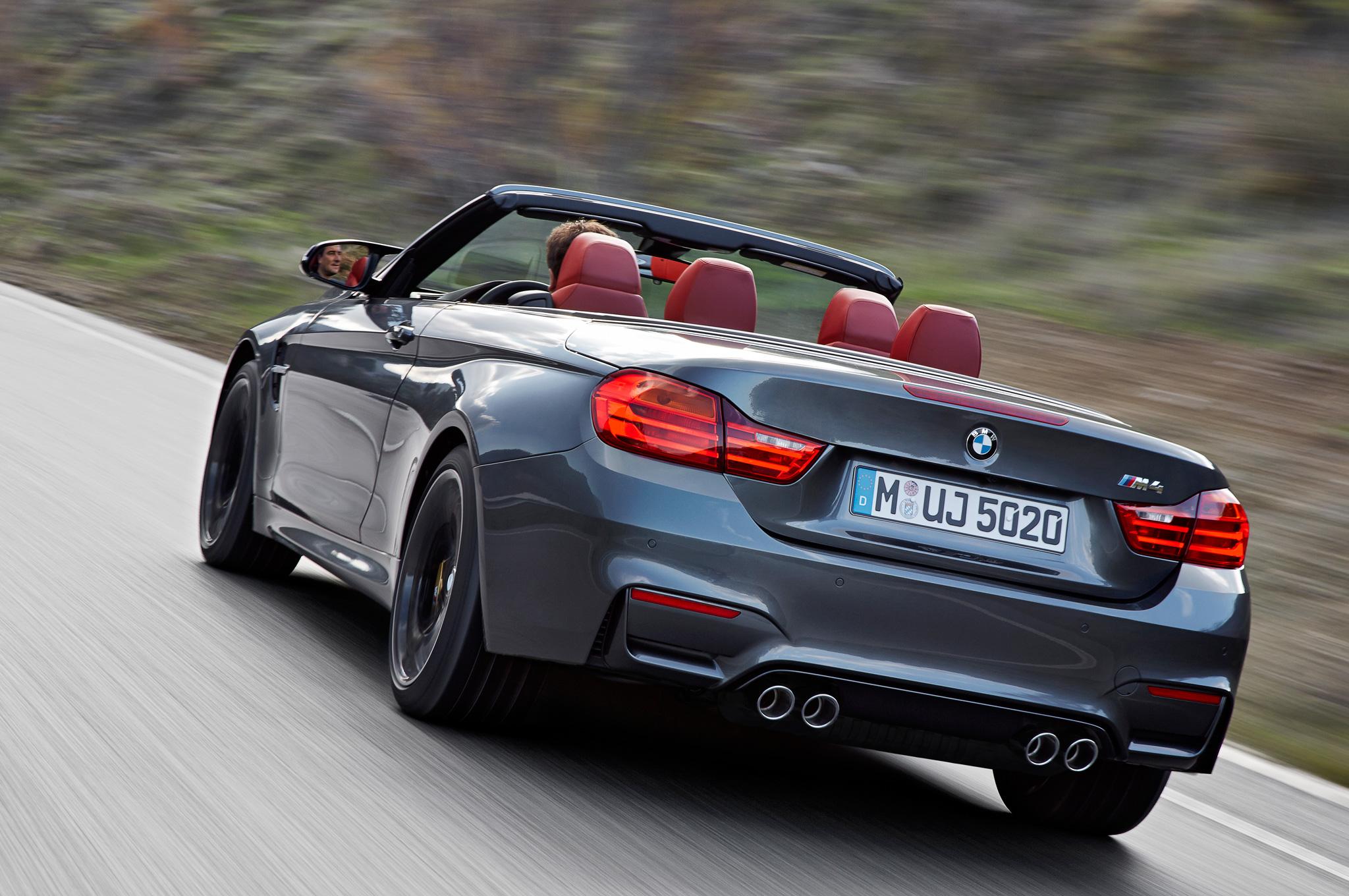 2015 BMW M4 Convertible Rear View