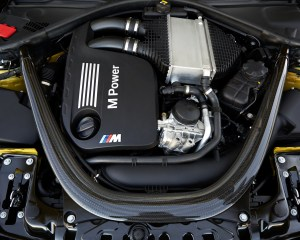 2015 BMW M4 Coupe Twin-Turbocharged 3.0-Liter Inline-6 Engine