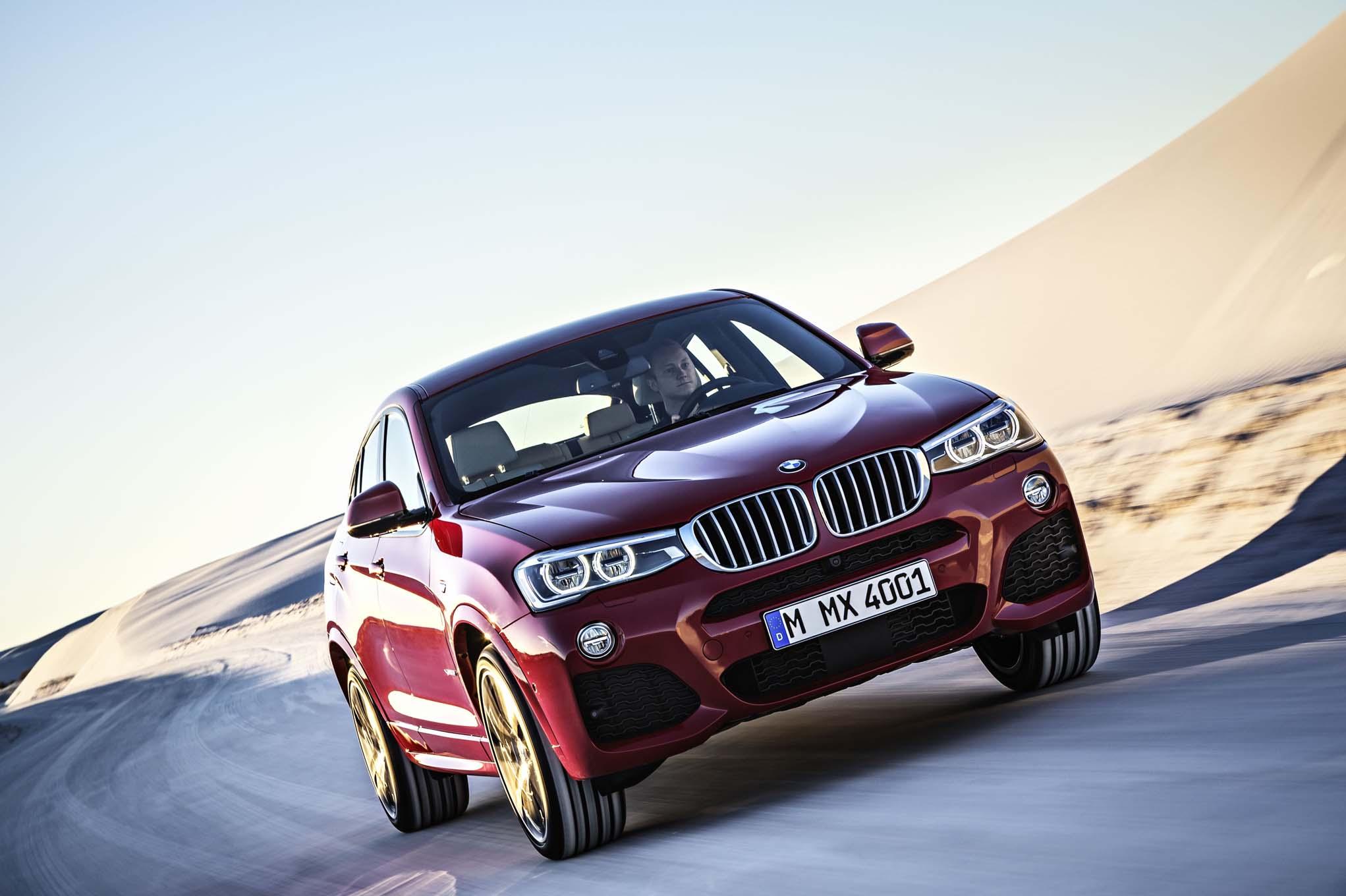2015 BMW X4 Test Photo