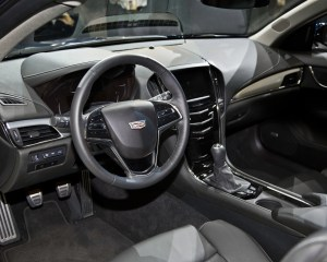 2015 Cadillac ATS Coupe Dashboard and Cockpit