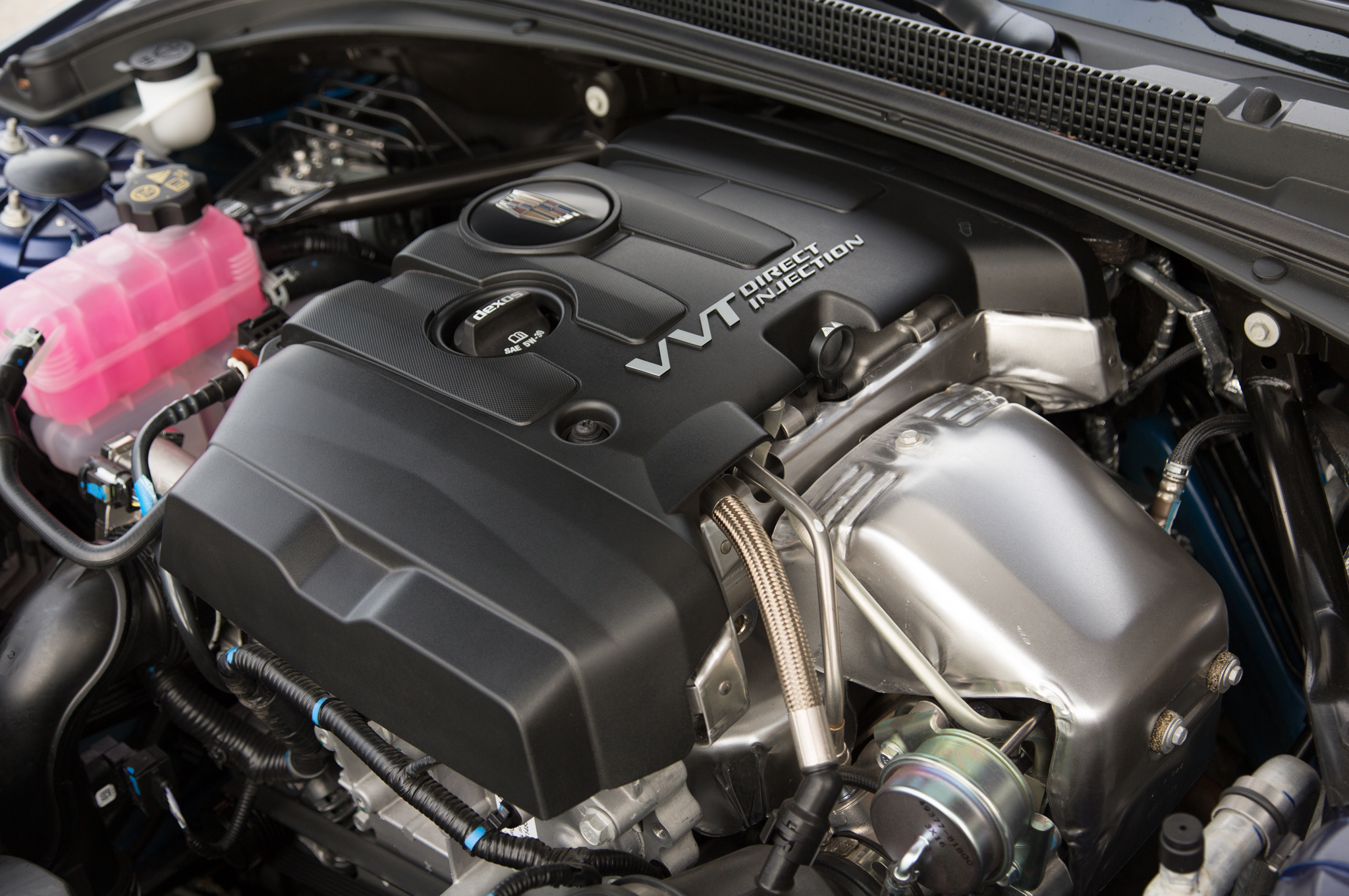 2015 Cadillac ATS Coupe Engine View