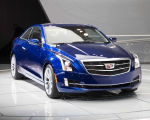 2015 Cadillac ATS Coupe Front Close-Up