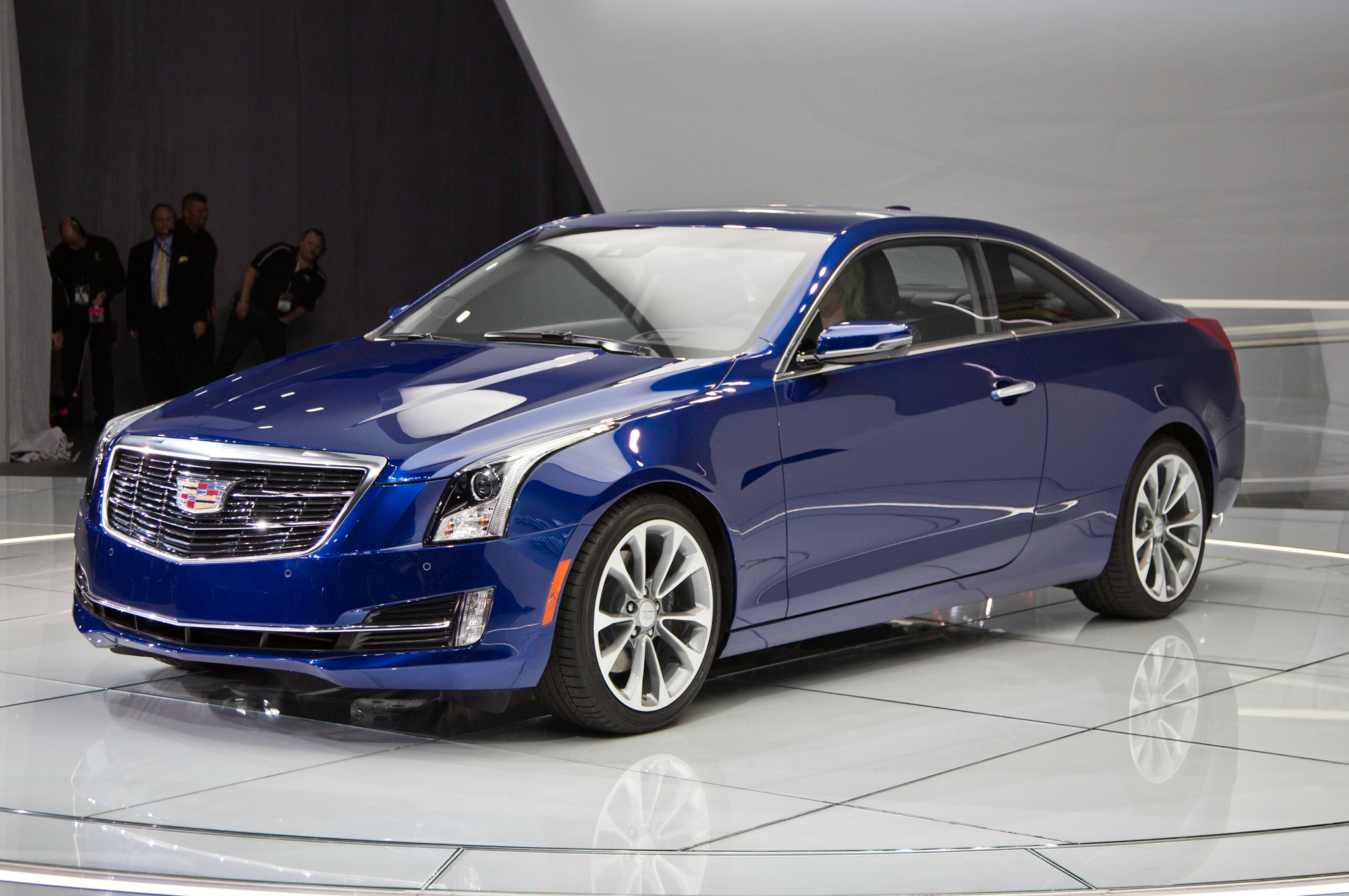 2015 Cadillac ATS Coupe Front View
