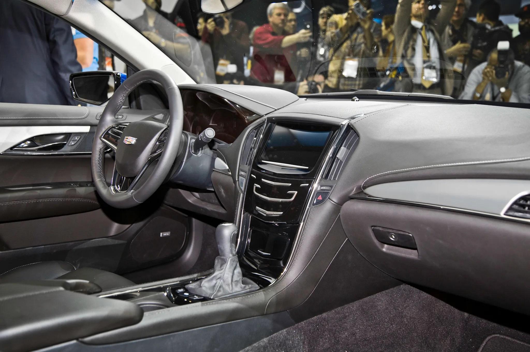 2015 Cadillac ATS Coupe Interior Dash