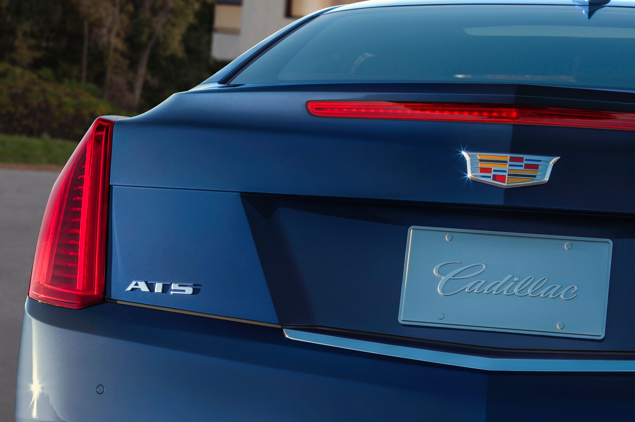 2015 Cadillac ATS Coupe Rear Lamp Close-Up