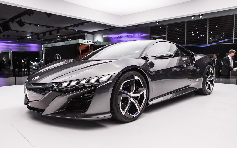 New 2015 Acura NSX