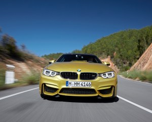 New 2015 BMW M4 Coupe Front View