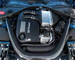 2015 BMW M3 Twin-Turbocharged 3.0-Liter Inline-6 Engine