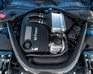 2015 BMW M3 Twin-Turbocharged 3.0-Liter Inline-6 Engine
