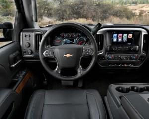 2015 Chevrolet Silverado HD Dashboard