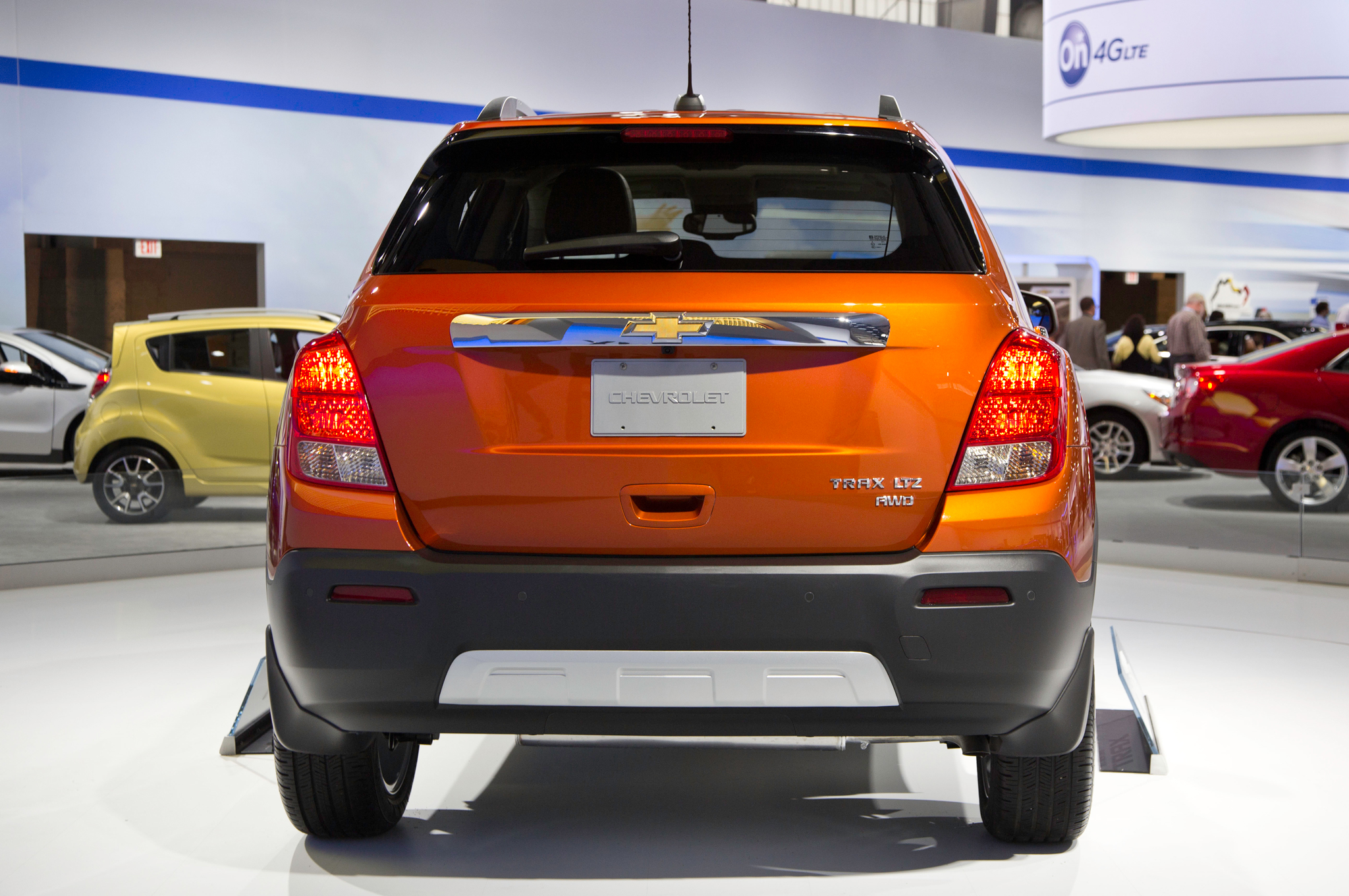 2015 Chevrolet Trax Rear Design