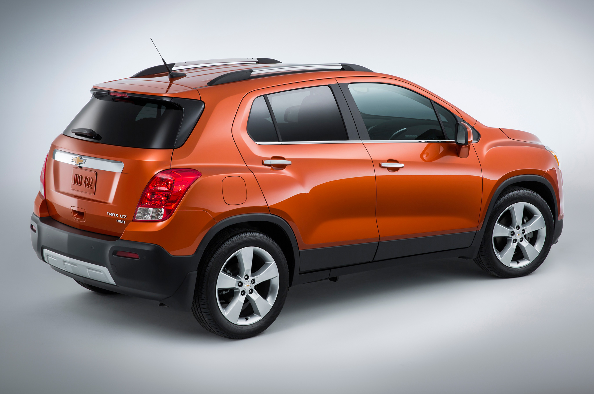 2015 Chevrolet Trax Side End
