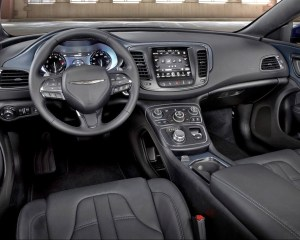2015 Chrysler 200 Cockpit Interior