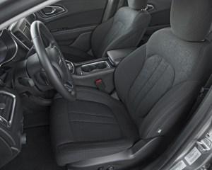 2015 Chrysler 200 Front Interior