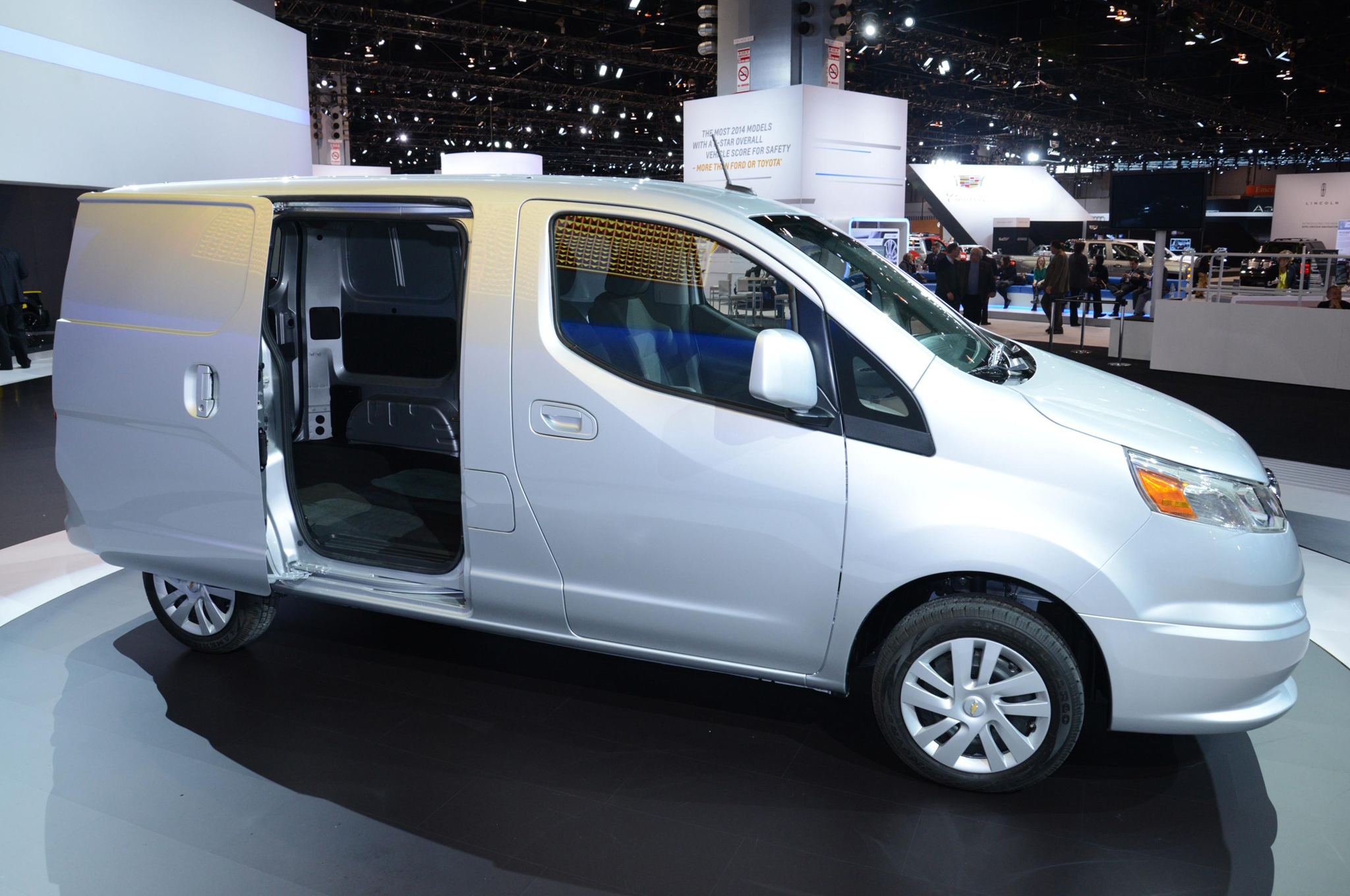 2015 chevy city express cargo van