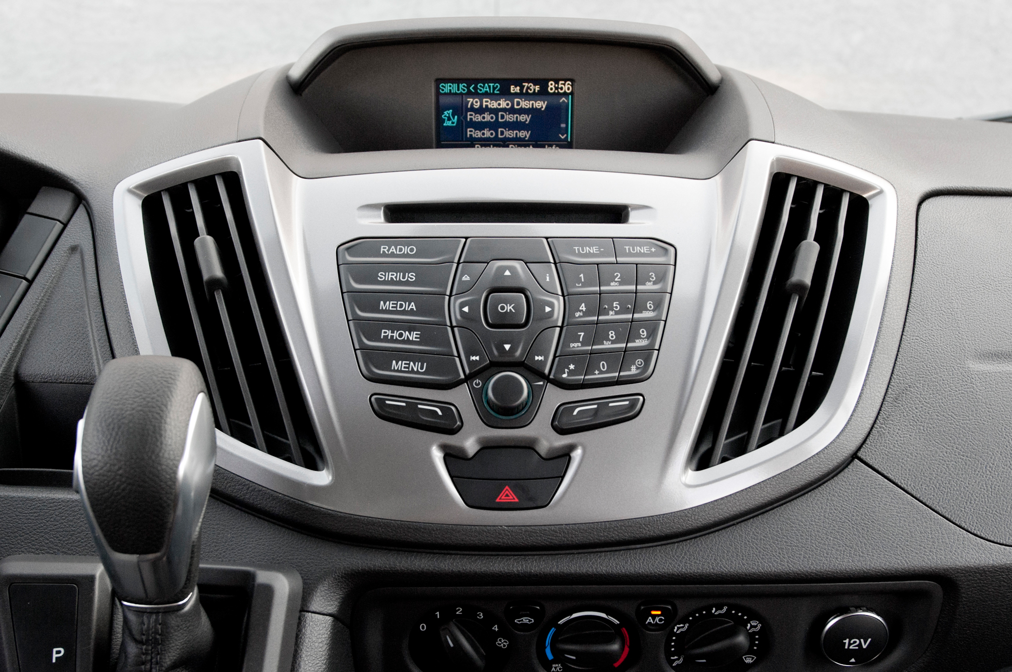 2015 Ford Transit 150 Head Unit Profile