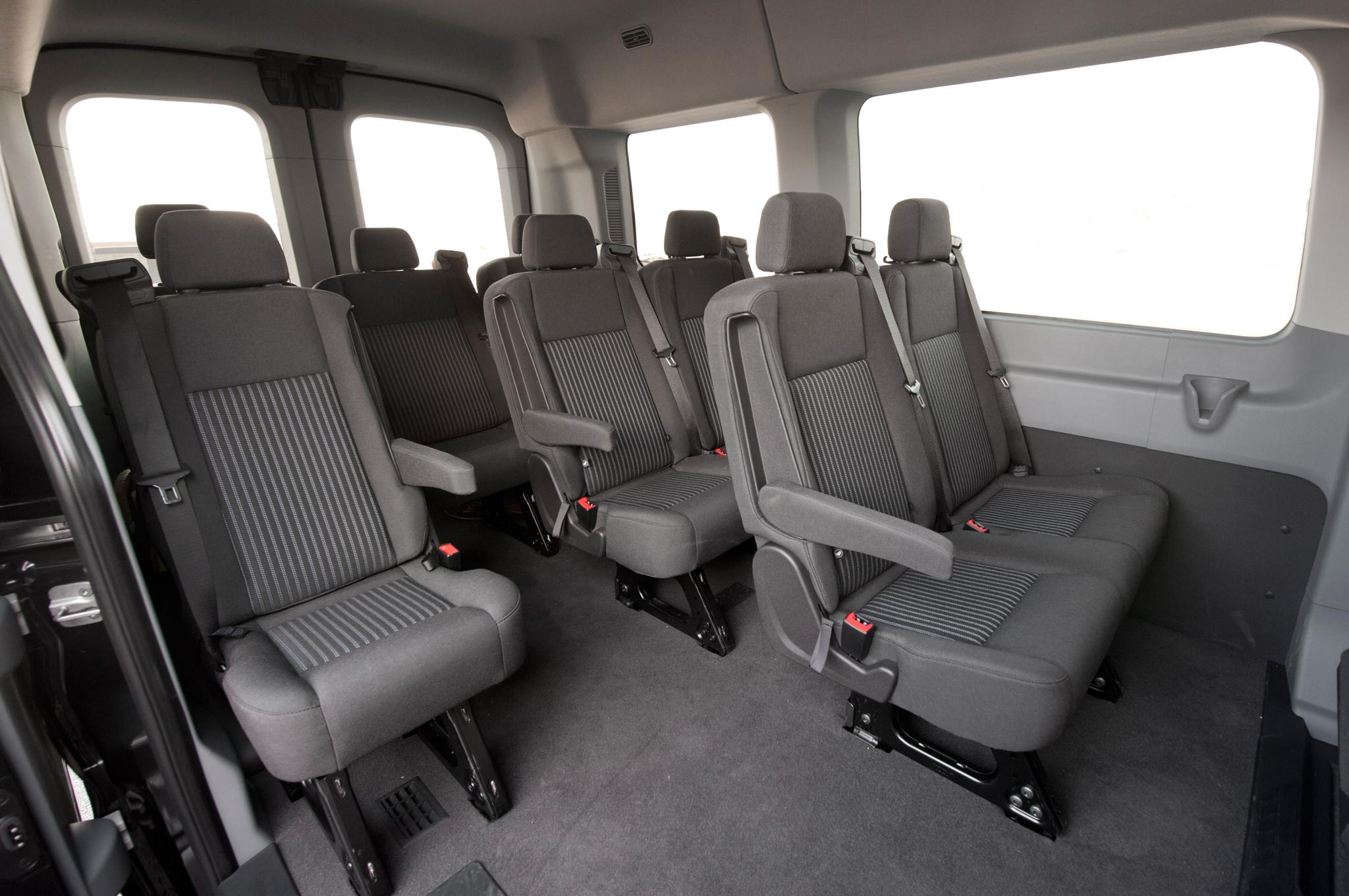 2015 Ford Transit 150 Seats Interior